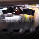 Particolare sull'ugello di stampa 3D per la prototipazione di modelli e mockup.