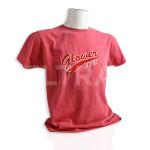 """Personalizzazione con termoadesivo e applicazione su T-Shirt linea aziendale marchio """"Glower""""."""