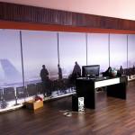 Realizzazione e applicazione di stampe digitali per decorazione parete.